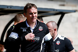 Bolton Wanderers manager Phil Parkinson  - Mandatory by-line: Matt McNulty/JMP - 22/04/2017 - FOOTBALL - Vale Park - Stoke-on-Trent, England - Port Vale v Bolton Wanderers - Sky Bet League One