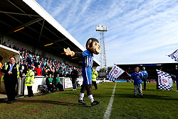 Hartlepool United mascot H'angus the Monkey - Mandatory by-line: Robbie Stephenson/JMP - 06/05/2017 - FOOTBALL - The Northern Gas and Power Stadium (Victoria Park) - Hartlepool, England - Hartlepool United v Doncaster Rovers - Sky Bet League Two