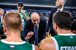 Slaven Rimac head coach of KK Cedevita Olimpija during ABA basketball league round 9 match between teams KK Cedevita Olimpija and KK Crvena Zvezda MTS in Arena Stozice, 1. December, 2019, Ljubljana, Slovenia. Photo by Grega Valancic / Sportida