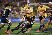 James Broadhurst during the Super Rugby Final between the Hurricanes and Highlanders at Westpac Stadium in Wellington., New Zealand. Saturday 4 July 2015. Copyright Photo: Andrew Cornaga / www.Photosport.nz