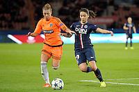 Anissa Lahmari - 28.03.2015 - Paris Saint Germain / Glasgow City FC - 1/4Finale retour Champions League<br /> Photo : Andre Ferreira / Icon Sport