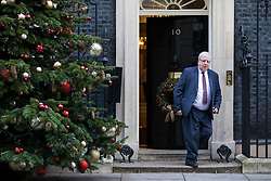 © Licensed to London News Pictures. 19/12/2017. London, UK. Chairman of the Conservative Party Patrick McLoughlin leaves 10 Downing Street after the weekly Cabinet meeting. Photo credit: Rob Pinney/LNP