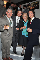 Left to right, ,SIR CAMERON MACKINTOSH, NICKY MACKINTOSH, DIANA MACKINTOSH and ROBERT MACKINTOSH at the opening of the new St.James Theatre, 12 Palace Street, London SW1 on 13th September 2012.