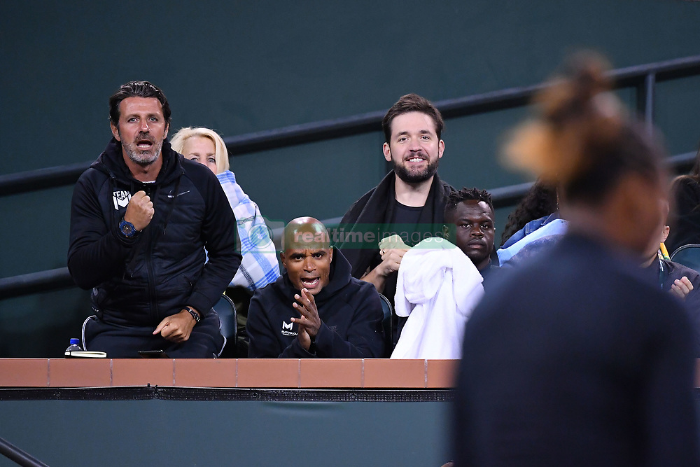 March 9, 2019 - Indian Wells, USA - Serena Williams (USA) and Patrick Mouratoglou (Credit Image: © Panoramic via ZUMA Press)