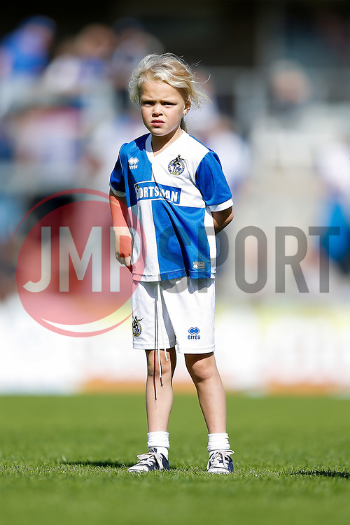 Mascots warm up - Mandatory byline: Rogan Thomson/JMP - 07966 386802 - 12/09/2015 - FOOTBALL - Memorial Stadium - Bristol, England - Bristol Rovers v Accrington Stanley - Sky Bet League 2.