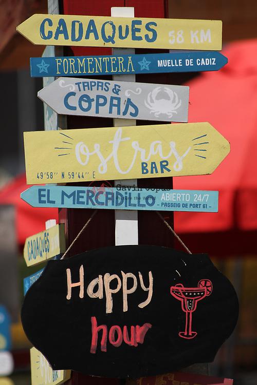Frutillar, Chile, Bar Signs, Happy Hour, Tapas