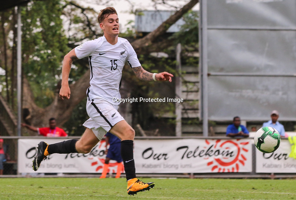 Myer Bevan.<br /> Fifa World Cup Qualifier, Solomon Islands v New Zealand All Whites, Lawson Tama Stadium, Honiara, Solomon Islands, 5 September 2017. Photo: OFC Media / www.photosport.nz