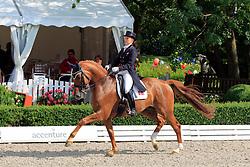 Dufour Catherine (DEN) - Atterupgaards Cassidy<br /> European Championship Junior 2010<br /> © Hippo Foto - Leanjo de Koster