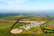 Nederland, Drenthe, Gemeente Noorderveld, 04-11-2018; Langelo, ondergrondse gasopslag van de Nederlandse Aardolie Maatschappij (NAM) op de gaslocatie Langelo. <br /> Langelo, underground gas storage of the Nederlandse Aardolie Maatschappij (NAM).<br /> <br /> luchtfoto (toeslag op standaard tarieven);<br /> aerial photo (additional fee required);<br /> copyright&copy; foto/photo Siebe Swart