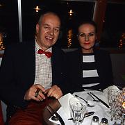Start showboat rederij Lovers, Ans Markus en haar man Wybe Tuinman