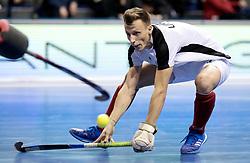 BERLIN - Indoor Hockey World Cup<br /> Quarterfinal 2: Austria - Poland<br /> foto: Dominic Uher.<br /> WORLDSPORTPICS COPYRIGHT FRANK UIJLENBROEK