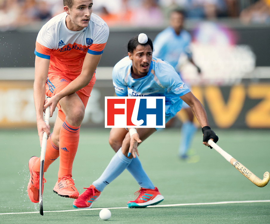 BREDA - Rabobank Hockey Champions Trophy<br /> The Netherlands - India<br /> Photo: Jonas de Geus. <br /> COPYRIGHT WORLDSPORTPICS FRANK UIJLENBROEK
