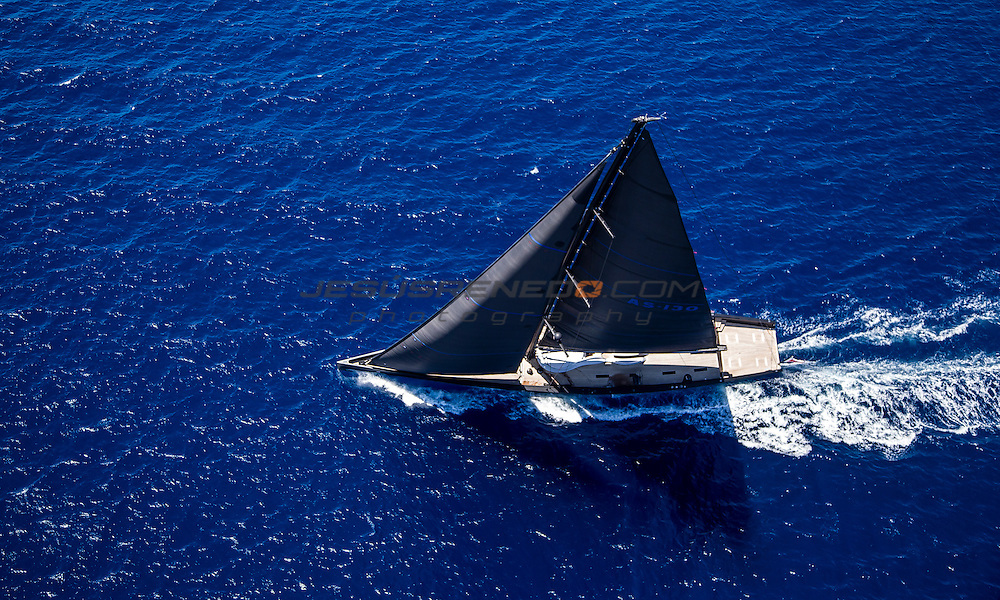"Wally  130 ""Angels Share"" Evolution sails ©jesusrenedo.com"