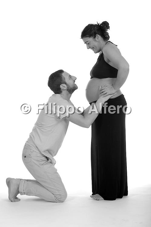&copy; Filippo Alfero<br /> Maria Gatti incinta<br /> Torino, 02/05/2015