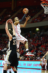 08 December 2012:  Jackie Carmichael for the rim toss during an NCAA mens basketball game between the Western Michigan Broncos and the Illinois State Redbirds (Missouri Valley Conference) in Redbird Arena, Normal IL