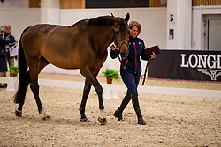 Madden Beezie, USA, Breitling LS<br /> LONGINES FEI World Cup™ Finals Gothenburg 2019<br /> © Dirk Caremans<br /> 02/04/2019