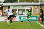 Forest Green Rovers Elliott Frear (11) passes the ball during the Vanarama National League match between Forest Green Rovers and Bromley FC at the New Lawn, Forest Green, United Kingdom on 17 September 2016. Photo by Shane Healey.