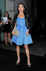 Ella Catliff attends the afterparty for the Versus show during London Fashion Week Spring/Summer 2016/17 in London, UK. 19/09/2015<br />BYLINE MUST READ : GOTCHAIMAGES.COM<br /><br />Copyright by © Gotcha Images Ltd. All rights reserved.<br />Usage of this image is conditional upon the acceptance <br />of Gotcha Images Ltd, terms and conditions available at<br />www.gotchaimages.com