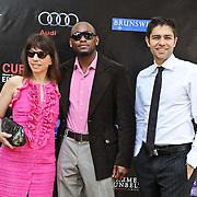 Robin Bronk, Omar Epps and Adrian Gernier