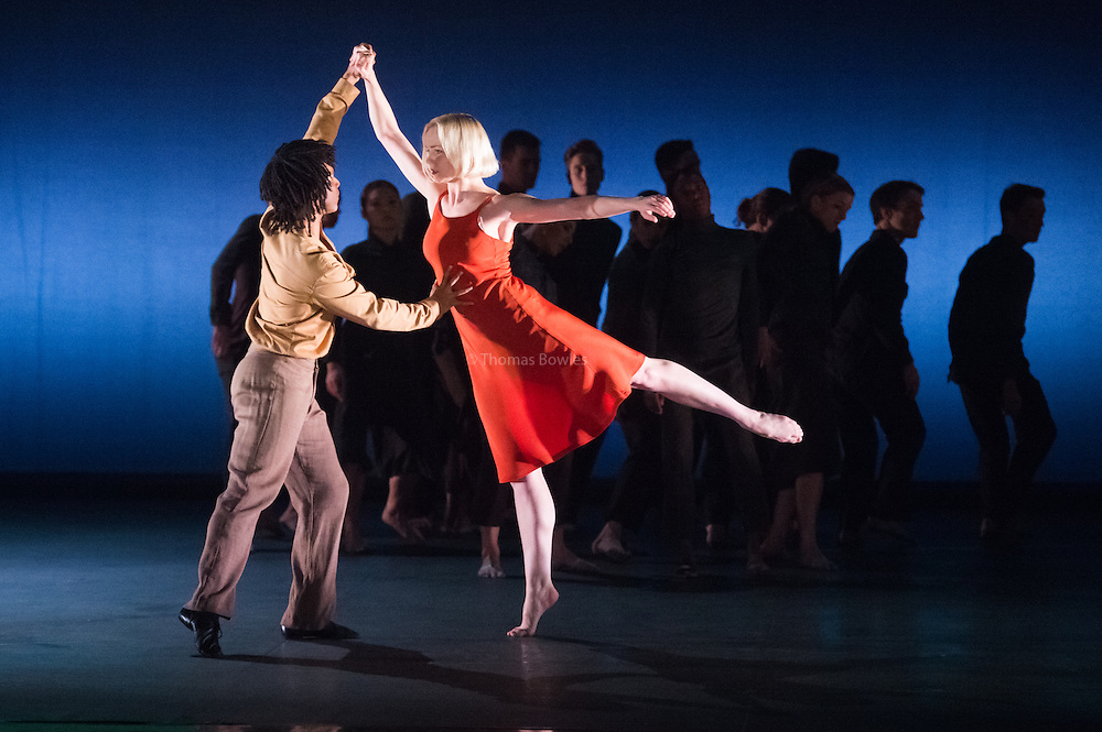 Miguel Altunaga and Simone Damberg Wurtz perform Transfigured Night