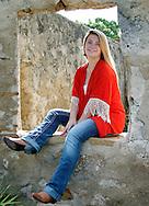 1 September 2014, Kaylee Soluri's High School Portraits, Mission San Jose, San Antonio, TX
