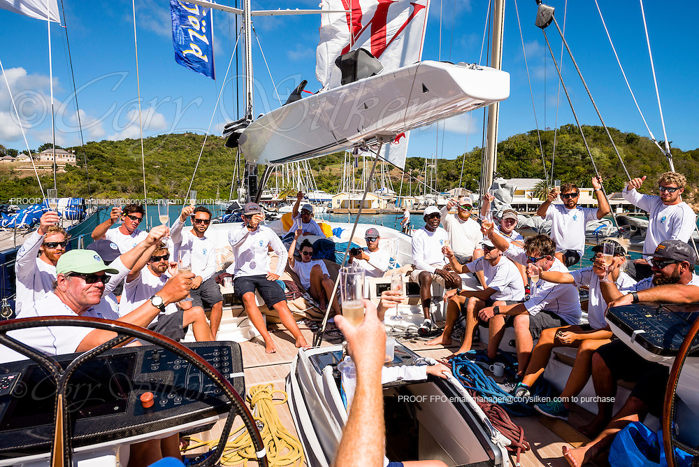 Sailing aboard Danneskjold in the Superyacht Challenge Antigua, day three.