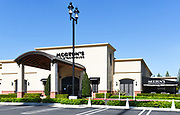 Morton's The Steakhouse Front Entrance and Parking in Santa Ana