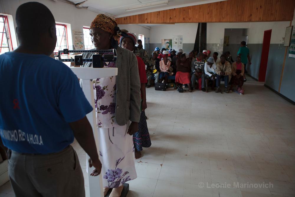 10 February 2011, Ha Sekake Clinic, Qacha's Nek District, Lesotho.  Ha Sekake Clinic.