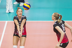 December 12, 2017 - Busto Arsizio, Varese, Italy - Stefania Dall'Igna (#7 Yamamay e-work Busto Arsizio) during the Women's CEV Cup match between Yamamay e-work Busto Arsizio and ZOK Bimal-Jedinstvo Brcko at PalaYamamay in Busto Arsizio, Italy, on 12 December 2017. Italian Yamamay e-work Busto Arsizio team defeats 3-0 Bosnian ZOK Bimal-Jedinstvo Brcko. (Credit Image: © Roberto Finizio/NurPhoto via ZUMA Press)