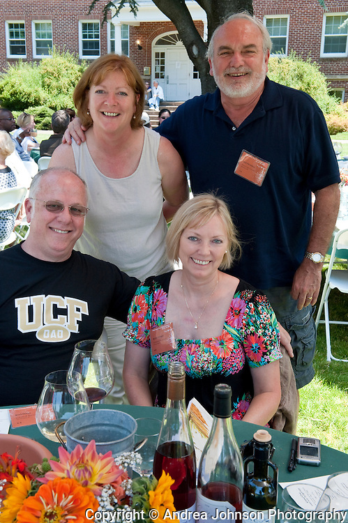 Sheila & Nick Nicholas with friends at the International Pinot Noir Celebration (IPNC), McMinnville, Willamette Valley,  Oregon