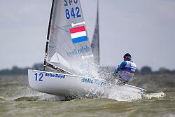 Day one Delta Lloyd Regatta  2015 (26/30 May 2015). Medemblik - the Netherlands.