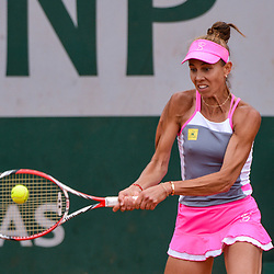 Mihaela Buzarnescu of Romania during Day 6 of the French Open 2018 on June 1, 2018 in Paris, France. (Photo by Baptiste Fernandez/Icon Sport)