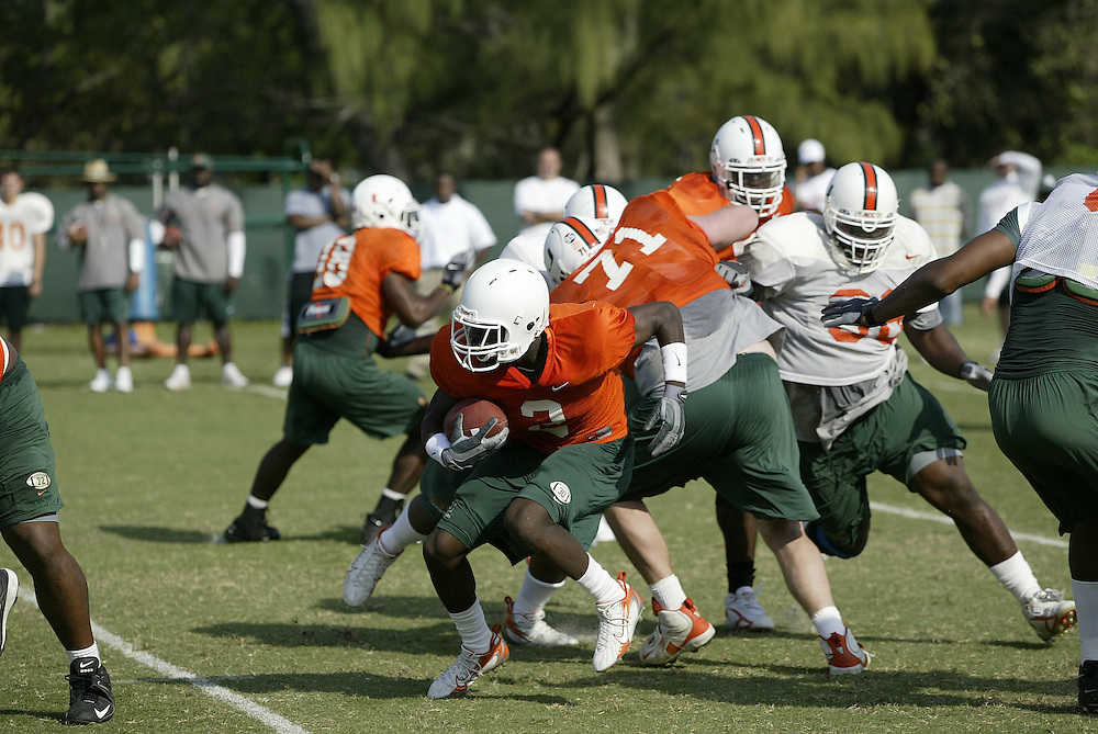 2007 Miami Hurricanes Football Spring Practice