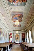 Schlosskirche Pillnitz, Dresden, Sachsen, Deutschland.|.Pillnitz Castle church, Dresden, Germany