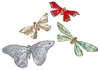 jeweled butterfly pins
