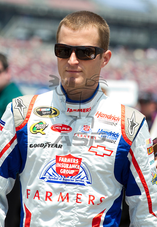 Talladega, AL - MAY 05, 2012:  Kasey Kahne (5) waits to qualify for the Aaron's 499 race at the Talladega Superspeedway in Talladega, AL.