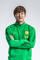 **EXCLUSIVE**Portrait of Chinese soccer player Chi Wenyi of Beijing Sinobo Guoan F.C. for the 2018 Chinese Football Association Super League, in Shanghai, China, 22 February 2018.
