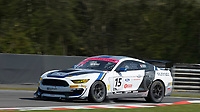#15 Scott Maxwell / Seb Priaulx Multimatic Motorsports Ford Mustang GT4 Silver GT4  during British GT Championship as part of the British F3 / GT Championship at Oulton Park, Little Budworth, Cheshire, United Kingdom. April 20 2019. World Copyright Peter Taylor/PSP. Copy of publication required for printed pictures.