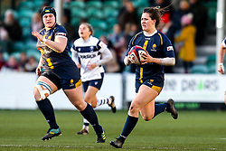 Meg Varley of Worcester Warriors Women - Mandatory by-line: Robbie Stephenson/JMP - 01/12/2019 - RUGBY - Sixways Stadium - Worcester, England - Worcester Warriors Women v Bristol Bears Women - Tyrrells Premier 15s
