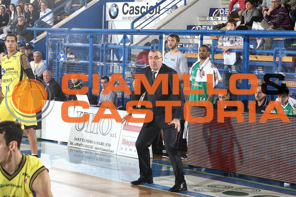 DESCRIZIONE : Porto San Giorgio Lega A 2009-10 Sigma Coatings Montegranaro Benetton Treviso<br /> GIOCATORE : Jasmin Repesa<br /> SQUADRA : Benetton Treviso<br /> EVENTO : Campionato Lega A 2009-2010 <br /> GARA : Sigma Coatings Montegranaro Benetton Treviso<br /> DATA : 06/03/2010<br /> CATEGORIA : coach <br /> SPORT : Pallacanestro <br /> AUTORE : Agenzia Ciamillo-Castoria/C.De Massis<br /> Galleria : Lega Basket A 2009-2010 <br /> Fotonotizia : Porto San Giorgio Lega A 2009-10 Sigma Coatings Montegranaro Benetton Treviso<br /> Predefinita :