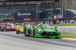 May 6, 2018 - Lexington, Ohio, United States of America - The Tequila Patron Nissan DPI car races through the turns during the Acura Sports Car Challenge race at the Mid-Ohio Sports Car Course in Lexington, Ohio. (Credit Image: © Walter G Arce Sr Asp Inc/ASP via ZUMA Wire)