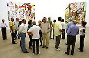 Brumadinho_MG, Brasil...Pessoas no Centro de Arte Contemporanea Inhotim (CACI)...People in Inhotim Contemporary Art Center (CACI)...FOTO: BRUNO MAGALHAES / NITRO..