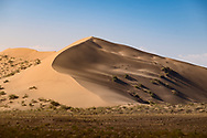 One of many Nature's Wonders - a singing sand dune in the south of Kazakhstan. <br />