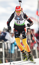 09.12.2011, Biathlonzentrum, Hochfilzen, AUT, E.ON IBU Weltcup, 2. Biathlon, Damen 7,5km Sprint, im Bild Tina Bachmann (GER) // Tina Bachmann of Germany during women 7.5km Sprint at E.ON IBU Worldcup 2th Biathlon, Hochfilzen, Austria on 2011/12/09. EXPA Pictures © 2011, PhotoCredit: EXPA/ Johann Groder