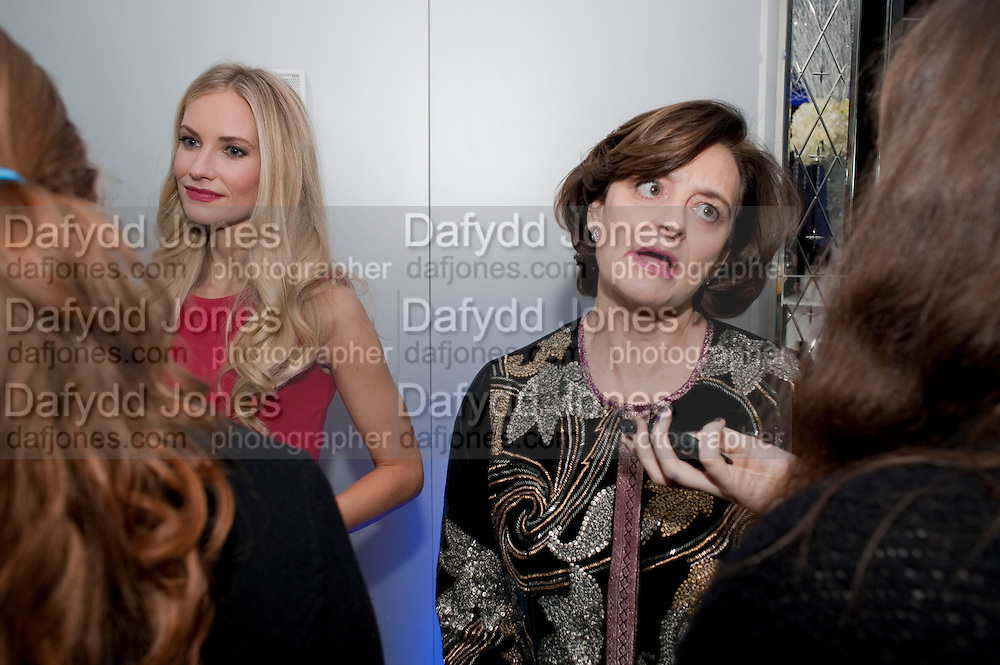 ZOE HOBBS; CHERIE BLAIR;  English National Ballet's party before performance of the ' The Nutcracker. St. Martin's Lane Hotel. London 14 December 2011.
