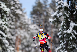 March 9, 2019 - –Stersund, Sweden - 190309 Johannes Thingnes Bö of Norway competes in the Men's 10 KM sprint during the IBU World Championships Biathlon on March 9, 2019 in Östersund..Photo: Petter Arvidson / BILDBYRÃ…N / kod PA / 92252 (Credit Image: © Petter Arvidson/Bildbyran via ZUMA Press)