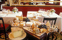 Cheese at Le Grand Vefour, Paris