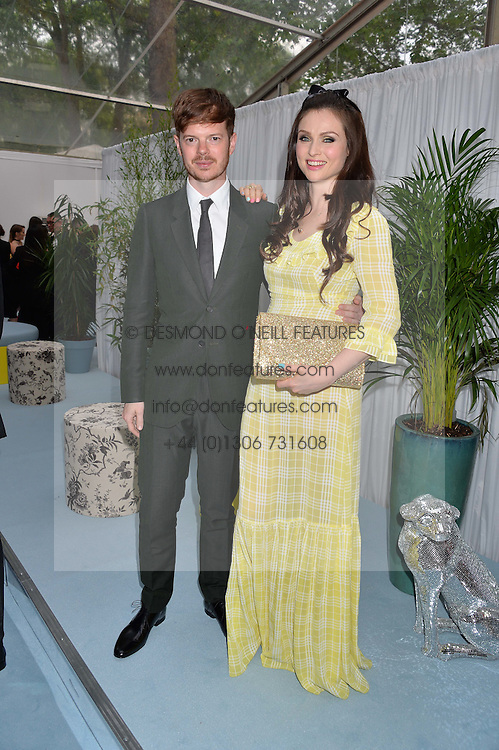 SOPHIE ELLIS-BEXTOR and RICHARD JONES at the Glamour Magazine Women of the Year Awards in association with Next held in the Berkeley Square Gardens, London on 7th June 2016.