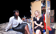 Touch <br /> by Vicky Jones <br /> at Soho Theatre, London, Great Britain <br /> press photocall 11th July 2017 <br /> <br /> Naana Agyei-Ampadu as Vera <br /> <br /> <br /> Amy Morgan as Dee <br /> <br /> <br /> <br /> <br /> Photograph by Elliott Franks <br /> Image licensed to Elliott Franks Photography Services