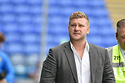 Oxford United Manager, Karl Robinson arrives at Fratton park during the EFL Sky Bet League 1 match between Portsmouth and Oxford United at Fratton Park, Portsmouth, England on 18 August 2018.